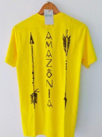 Camiseta Amazônia Flechas