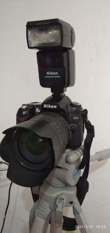 Máquina Fotográfica kit estúdio