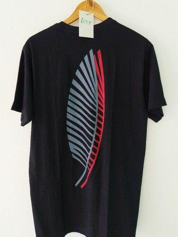 Camiseta Amazônia Sobrefolhas