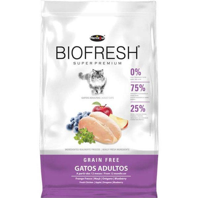 Ração Biofresh Gatos Super Premium 1,5kg Escolha o Tipo