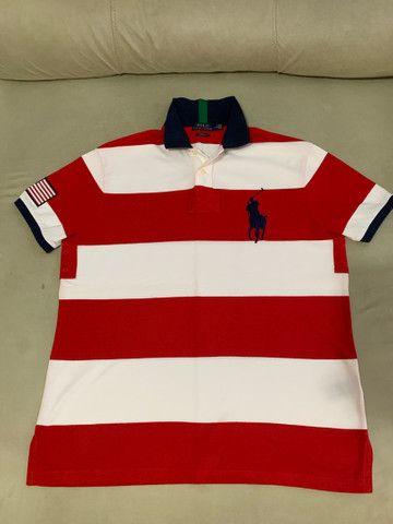Camisas Polo Ralph Lauren big pony originais Large G - Foto 3