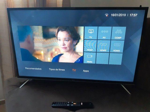 TV 32 POL, TCL, LED, FULL HD, SMART (WI-FI) PARCELO NO CARTÃO CRÉDITO - Foto 3