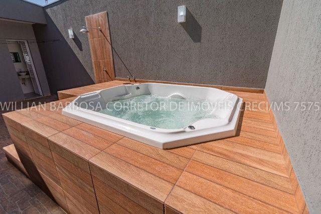 Sobrado semi novo 3 quartos, planejados e hidromassagem na Chácara cachoeira - Foto 20