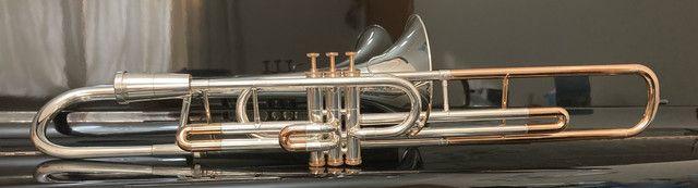Trombone Weril Prata Sib Curto - Foto 2