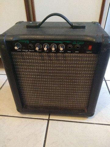 Caixa moog gs20 para guitarra - Foto 3