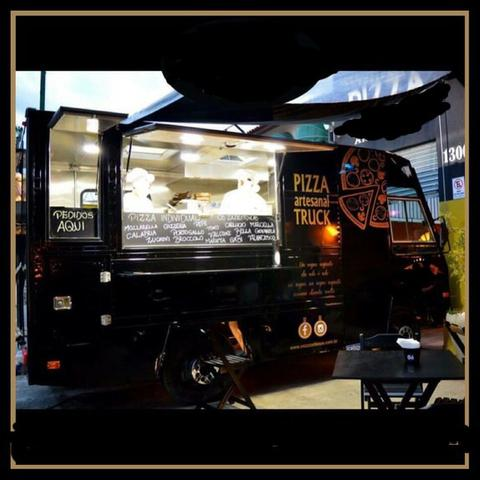 Food truck de pizzas