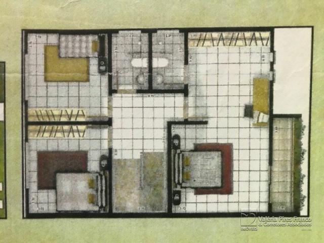 Casa de condomínio à venda com 3 dormitórios em Parque verde, Belém cod:6445 - Foto 3