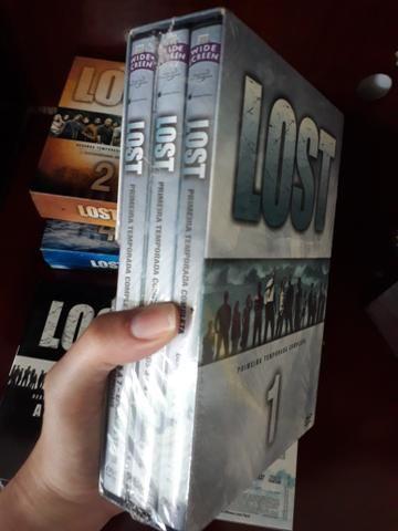 Temporada completa de Lost R$ 100