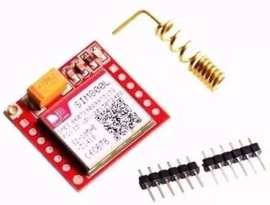 COD-AM248 Módulo Gprs Gsm -arduino Sim800l Arduino Automação Robotica