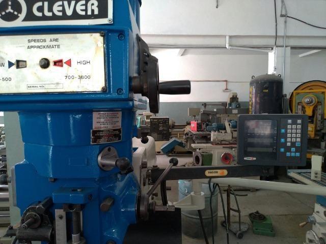 Fresadora Clever ISO-40 - Foto 4