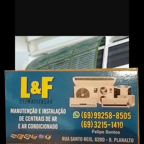 Manutenção e instalação em central de ar e ar-condicionado