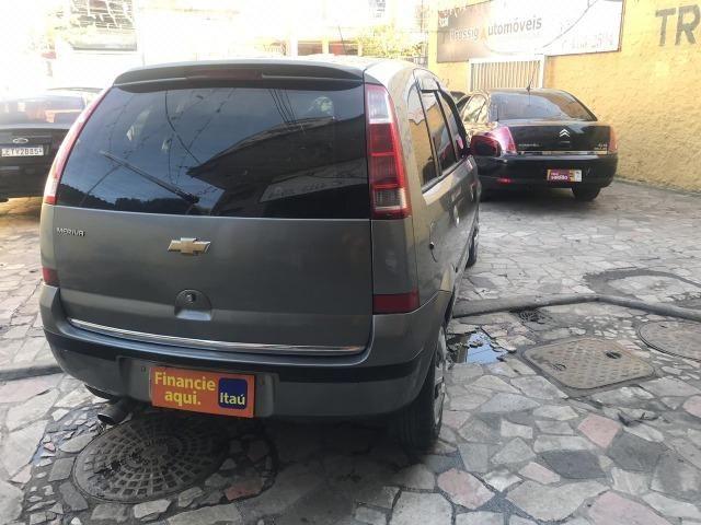 Chevrolet Meriva 1.4 8v flex Couro (Queima de estoque) + kit gas - Foto 8