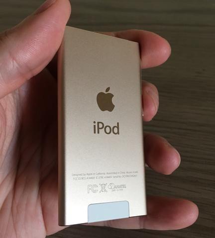 IPod Nano 7 16GB Dourado (impecável) - Foto 3