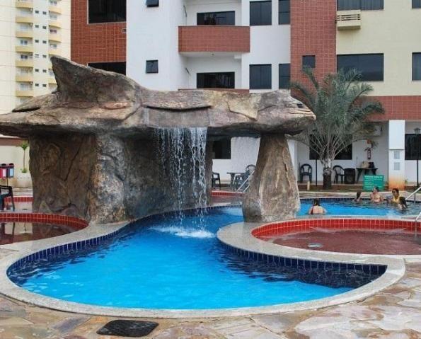 Apartamento 2 quartos para temporada em caldas novas, golden dolphin supreme bairro: turis - Foto 4