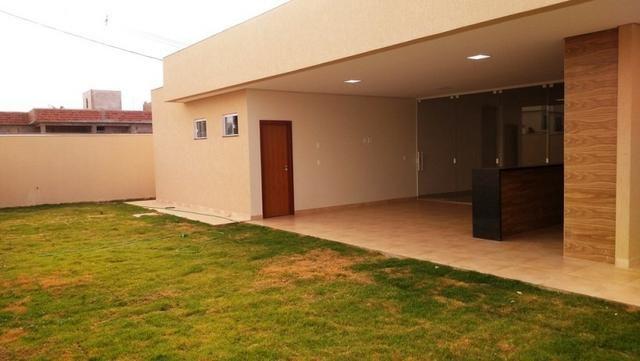 Samuel Pereira oferece: Casa 3 Suites Moderna Armários Churrasqueira Sobradinho CABV - Foto 4