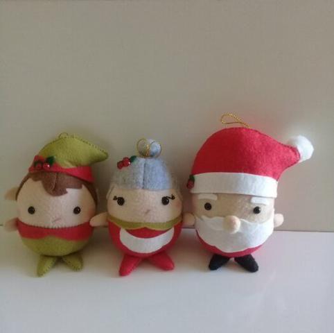 Puffys de Natal