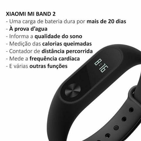Relógio Inteligente Xiaomi Mi Band 2 (Apenas 1 Unidade) - Foto 2