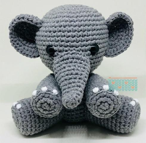 Elefante amigurumi - Foto 2