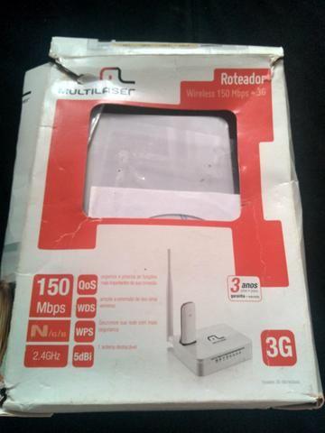 Roteador Wireless Multilaser Novo - Foto 3