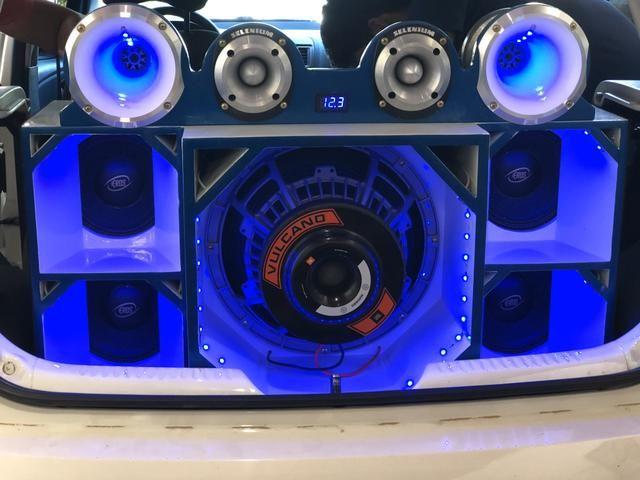 Vendo som completo ou troco em Biz - Foto 5