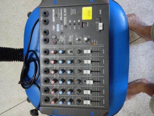 Mesa de som Analógica MXM 6 canais - Foto 4