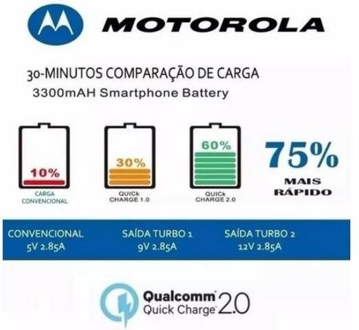 Carregador Motorola Turbo 3.0 - Foto 2