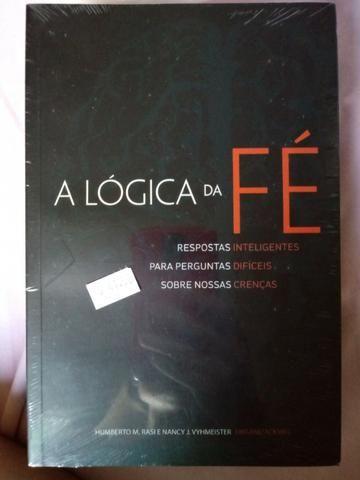 Livro A Lógica da Fé Humberto Rasi e Nanci Vyhmeister Editora CPB