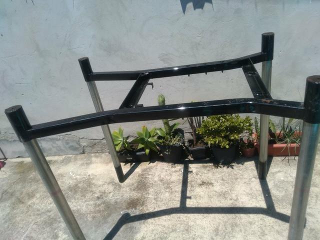 Vendo estruturas de ferro reforçado e desmontável. Tipo mesa !! $35,00.!!