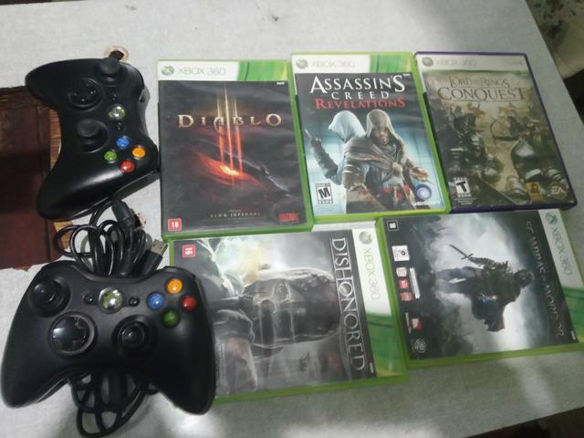 Xbox 360 pouco usado - Foto 2