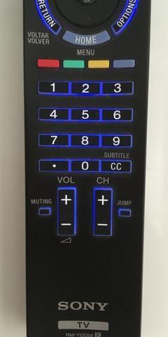Controle remoto original Sony RM-yd058 TV 46HX-925 Seminovo - Foto 5