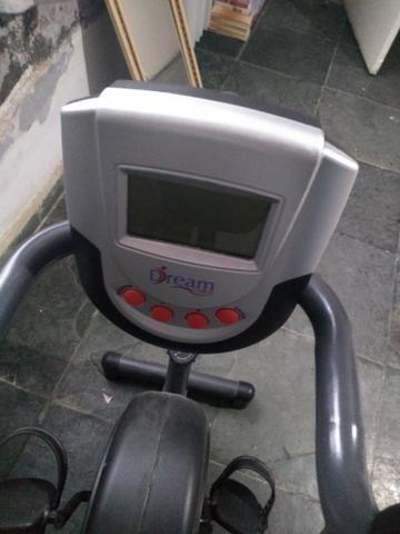 Bicicleta horizontal zerada. Montada e novinha - Foto 5