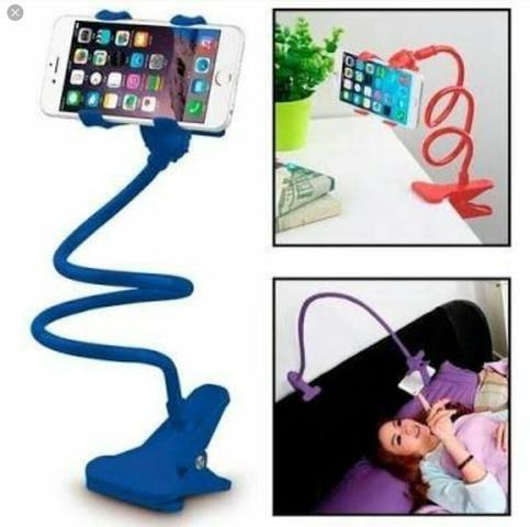 Suporte de celular flexível pescoço de ganso - Foto 3