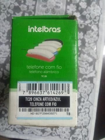 Telefone Intelbras godola com fio novo - Foto 2