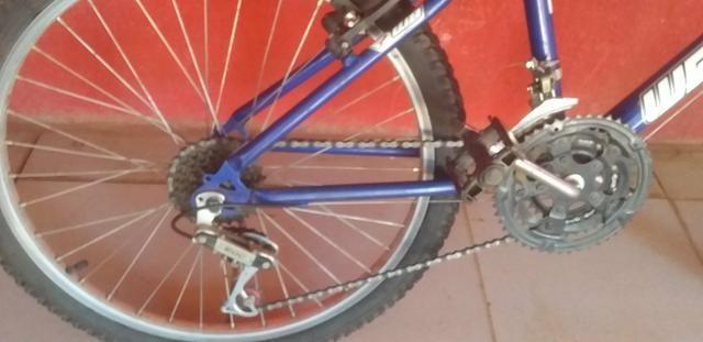 Vendo bicicleta aro 24 - Foto 2