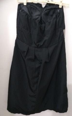 Vestido de festa Preto Curto Tomara-que-caia G - Foto 4