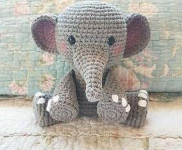 Elefante amigurumi - Foto 3