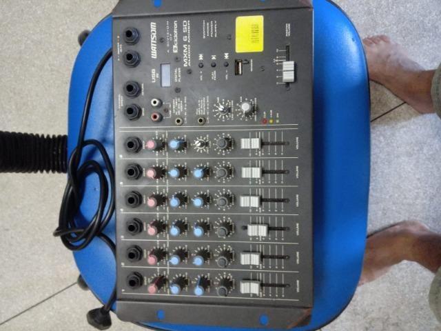 Mesa de som Analógica MXM 6 canais - Foto 3