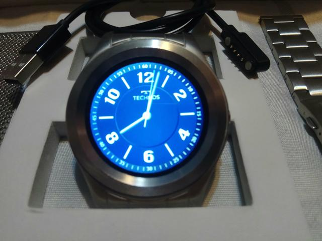 Relógio Technos Smart Watch Prata Srad 1p - Connect Full ... 84a2fe17d6