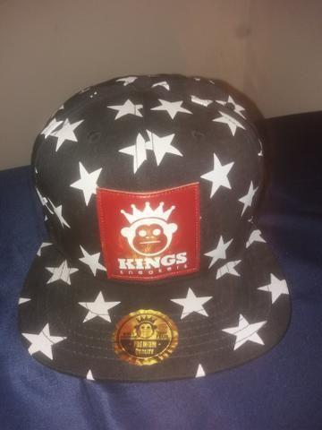 Boné da kings novo e original - Bijouterias 6938b63847de8