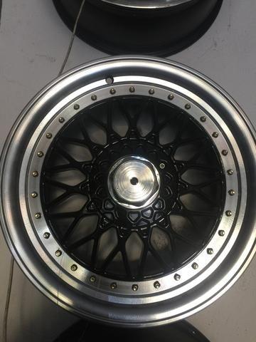Jogo de rodas BBS aro 17, 4x100/108 VW,Gm,Ford - Old Garage