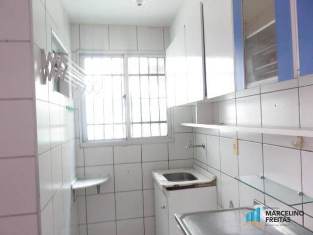 Apartamento com 2 dormitórios para alugar, 45 m² por R$ 909,00/mês - Parque Tabapua - Cauc - Foto 8