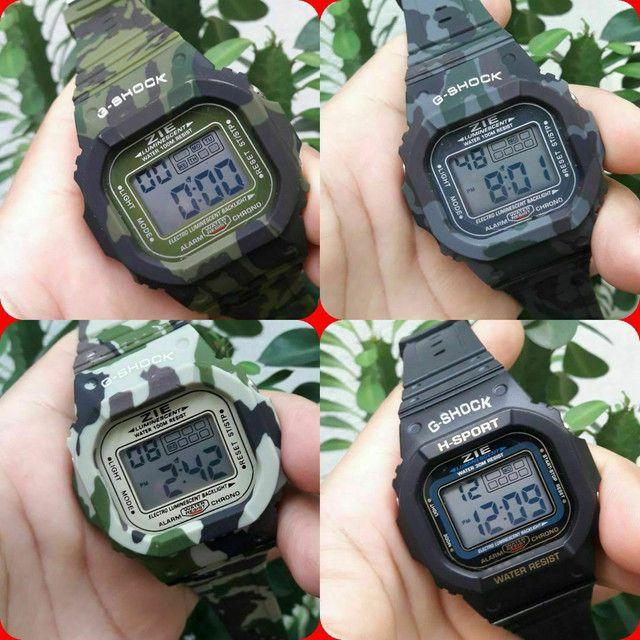 Relógio militar camuflado 40 unidades ou 3 p 100 - Foto 2