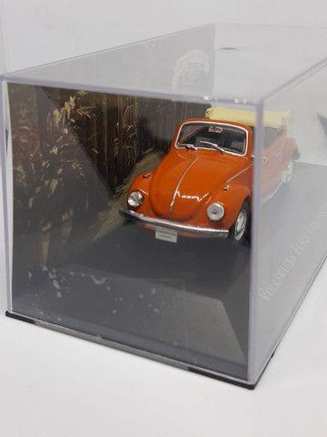 Miniatura Fusca conversível 1973 escala 1/43 - Foto 2