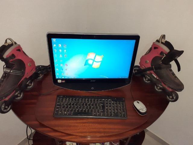 Computador + Patins 4rodas - Foto 5