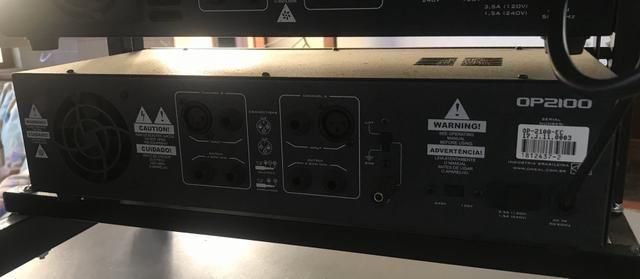 Amplificador Oneal 2100 - Foto 3