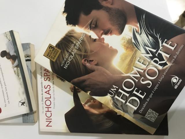 Livros Nicholas Sparks - Foto 4