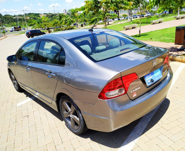 Honda Civic Lxs 2008 1.8 Flex Completo (Automático) - Foto 6