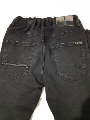 Calça jeans infantil preta , Zara original  - Foto 4