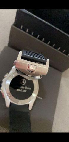 Relógio Tag Heuer Mercedes Benz SLS Top de Linha a prova d'água Completo - Foto 2