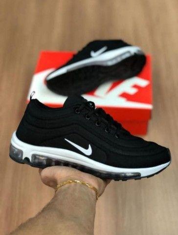 Tênis Nike gel ESPORTIVO PROMOÇÃO ( TAXA DE ENTREGA 10RS) - Foto 2